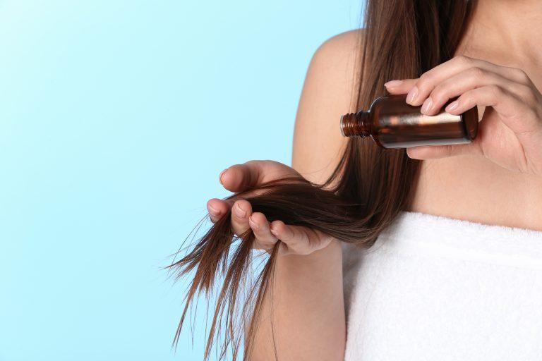 Olejowanie włosów krok po kroku